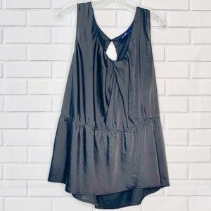 Eloquii career blouse shell tank black Limited 22W
